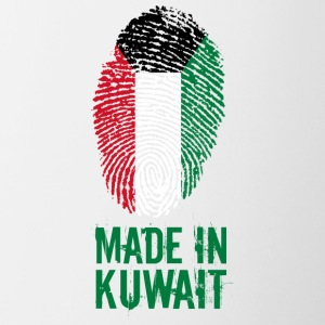 Made in Kuwejcie / الكويت - Kubek dwukolorowy