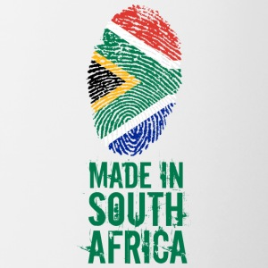 Made In South Africa / South Africa - Contrasting Mug