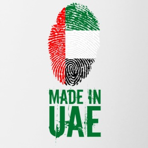 Made In UAE / Förenade Arabemiraten - Tvåfärgad mugg
