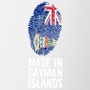 Made In Caymanöarna / Cayman Islands - Tvåfärgad mugg