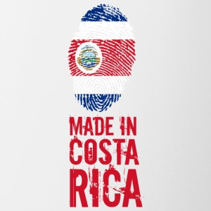 Made In Costa Rica - Tasse zweifarbig