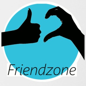 friend zone - Contrasting Mug