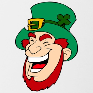 Irish Leprechaun - Contrasting Mug