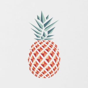 ananas pineapple - Mok tweekleurig