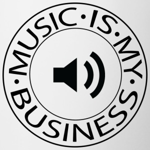 Music is my Business - Tazze bicolor