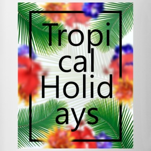 Tropical Holidays - Contrasting Mug
