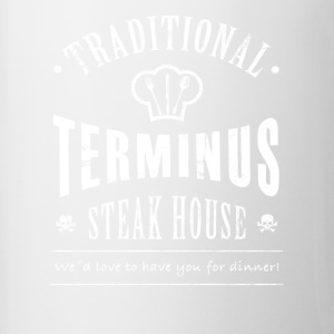 Terminus steakhouse - Mok tweekleurig