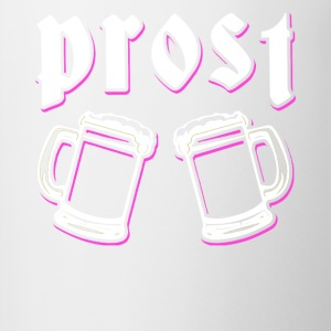 Prost (Cheers) Oktoberfest clothing - Contrasting Mug
