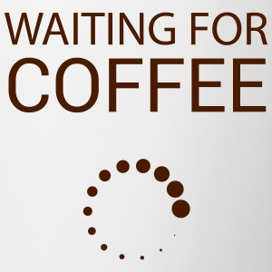 Wainting for Coffee - Contrasting Mug