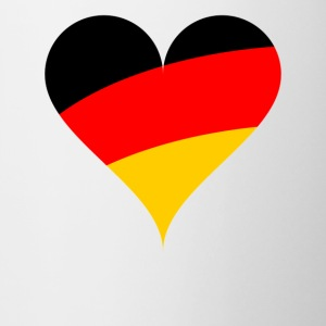 heart Germany - Contrasting Mug