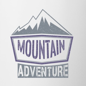 Mountain Adventure - Mok tweekleurig