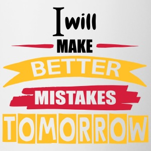 Better Mistakes Tomorrow - Mok tweekleurig