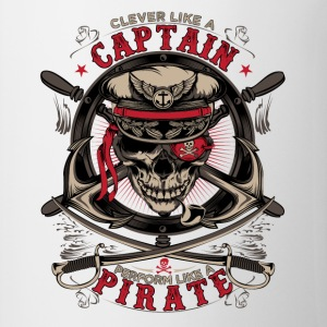 captain pirate - Mok tweekleurig