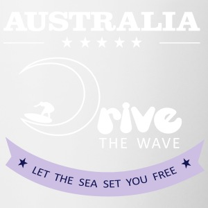 Australia Drive The Wave 02 - Taza en dos colores
