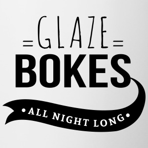 Bokes glasur, All night long - Tofarget kopp