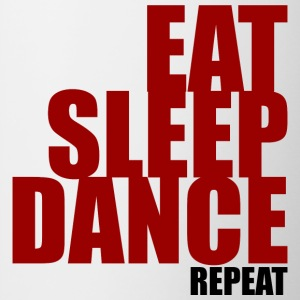 Eat Sleep Danza - Tazze bicolor