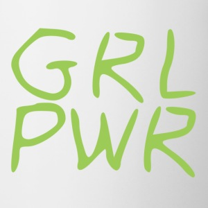 Girl Power - Tasse bicolore