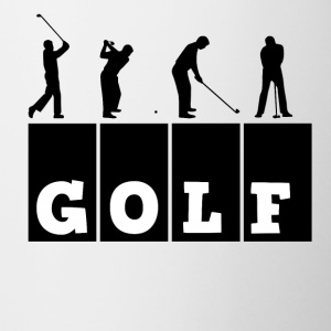 golf - Mok tweekleurig