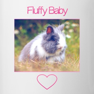 Fluffy Baby: Phone Case - Contrasting Mug