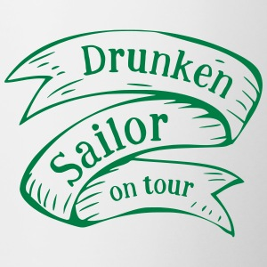 Drunken Sailor en tournée - Tasse bicolore