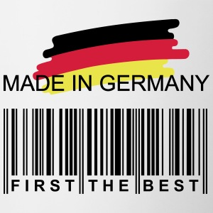 Germany First Flag - Contrasting Mug