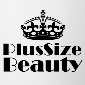 Plus Size Beauty - Tvåfärgad mugg