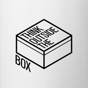 Think outside the box - Contrasting Mug