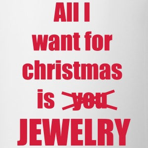 Christmas song saying Jewelry - Contrasting Mug