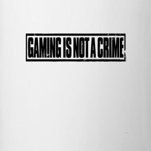 Gaming is not a crime - Contrasting Mug