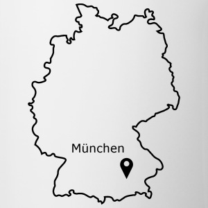 place to be: Munich - Contrasting Mug