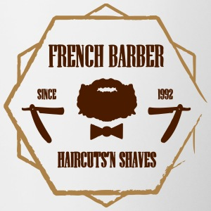 FRENCH BARBER - Kubek dwukolorowy