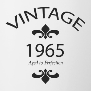 Vintage 1965 Aged to Perfection - Contrasting Mug