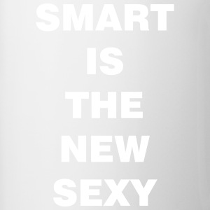 smart is the new sexy - Contrasting Mug