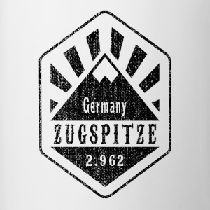 Zugspitze Germany - Used Look - Contrasting Mug