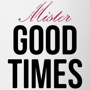 Mister Good Times - Tasse bicolore
