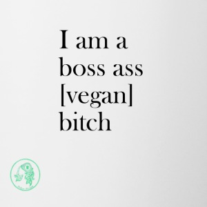 Bag - Boss Ass Bitch Vegan - Tvåfärgad mugg