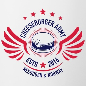 Cheeseburger Army U.S Colors - Tofarget kopp