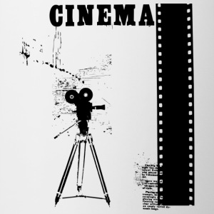 CINEMA - Mok tweekleurig