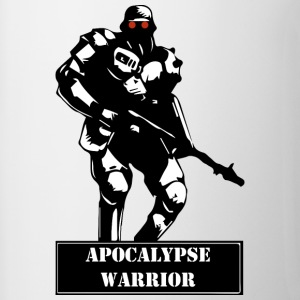 Apocalyps Warrior - Mok tweekleurig