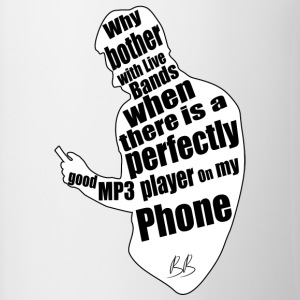 Phone protest - Mok tweekleurig