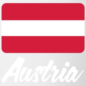 National Flag Of Austria - Contrasting Mug
