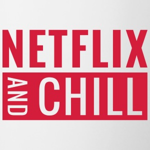 Netflix and chill - Mok tweekleurig