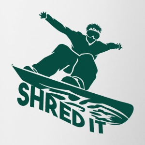 SHRED IT - Boarder Power - Tofarvet krus
