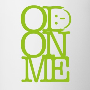 OD ON ME - Lime - Mok tweekleurig