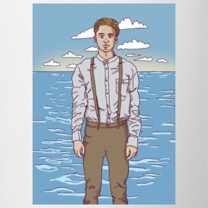 The Young man and the sea - Contrasting Mug