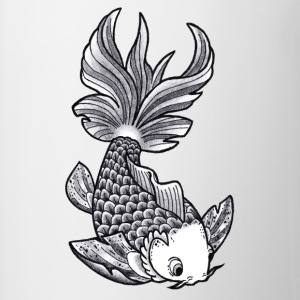 Pesce Tattoo Flash - Tazze bicolor