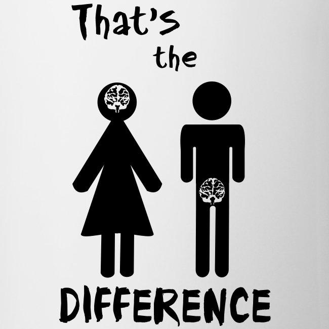Unterschied Mann & Frau