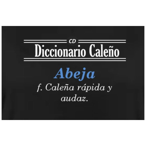 Diccionario caleño - Taza en dos colores
