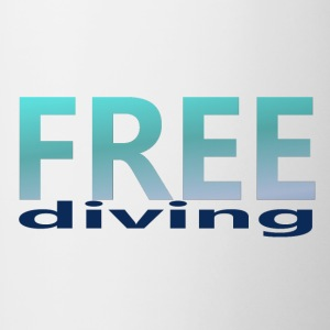 freediving - Tasse bicolore