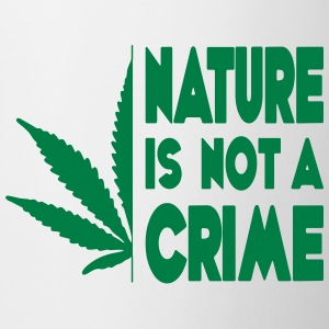 nature is not a crime - Contrasting Mug